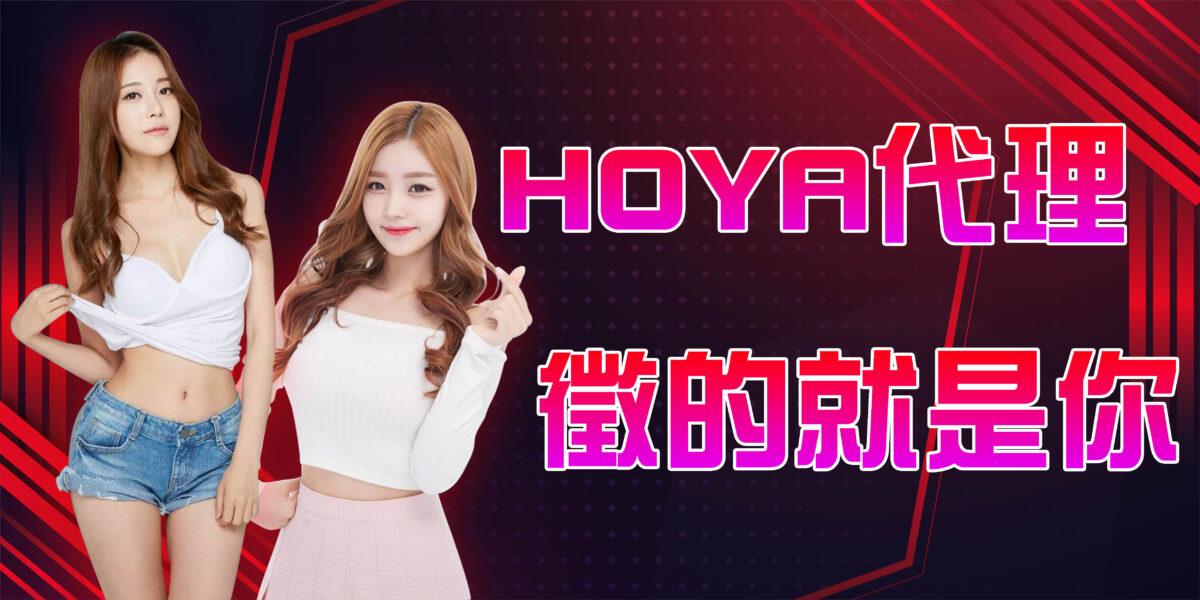 2021年HOYA娛樂城代理,強力徵求中!